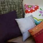 Pallet di cuscini in svendita