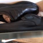 Lotto di scarpe in pelle